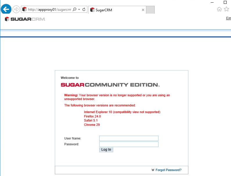 Application Publishing