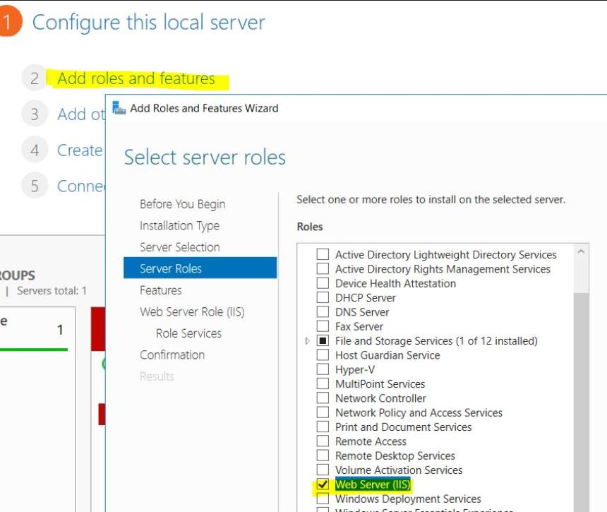 Azure Web Farm using IIS & Azure File storage – Office Line