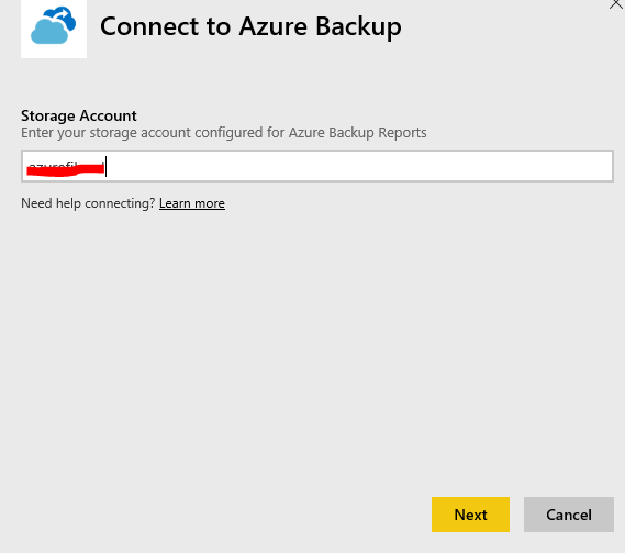 Azure Backup Reports